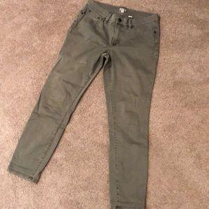 J Crew mercantile skinny stretch pants